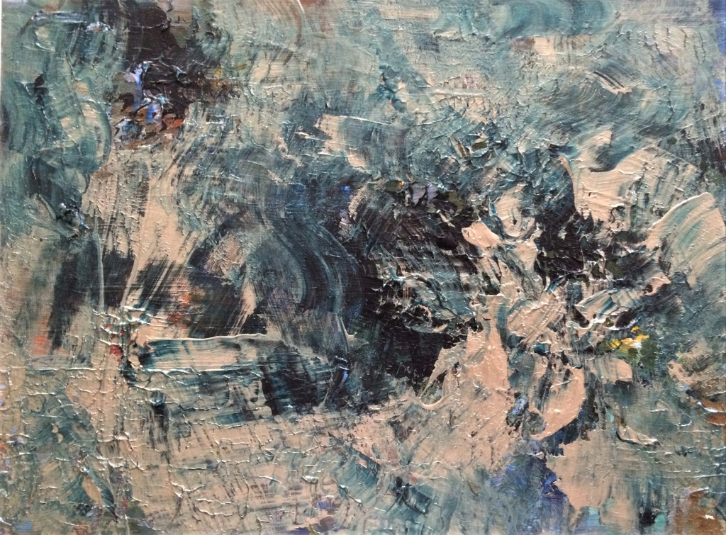 Bardo Thodol - Wind into Spirit 30 x 40 cm